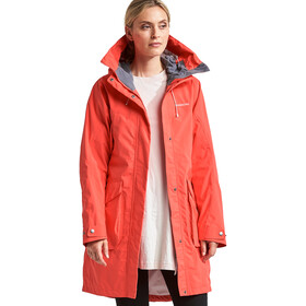 DIDRIKSONS Thelma Parka Femme, coral red